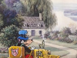 Umelec David Irvine maľuje postavy z filmov a rozprávok na staré obrazy 1