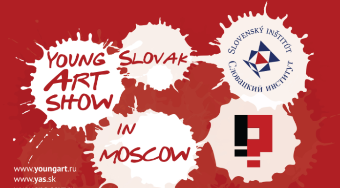 Young Slovak Art show in Moscow 1