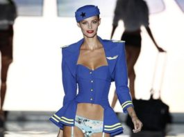 Michaela Kocianová na Madrid Fashion Week jar/leto 2015 2