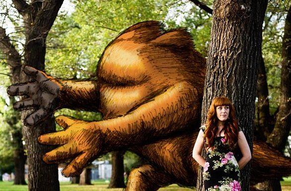 9 nápaditých ilustrácií spojených s reálnymi fotkami 10
