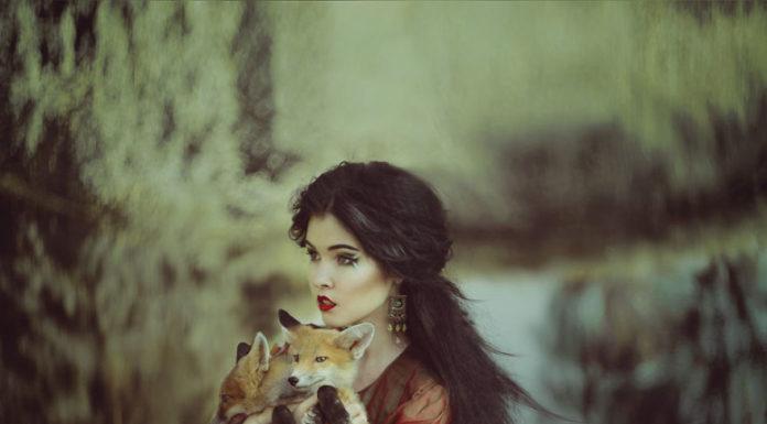 Magické rozprávkové portréty žien so zvieratami 6