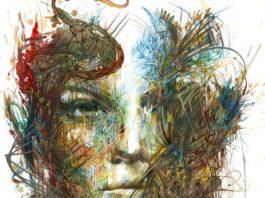 Carne Griffiths a jeho prekrásne portréty vytvorené čajom a atramentom 5