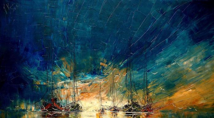 Justyna Kopania a jej pôsobivé maľby starých lodí 7