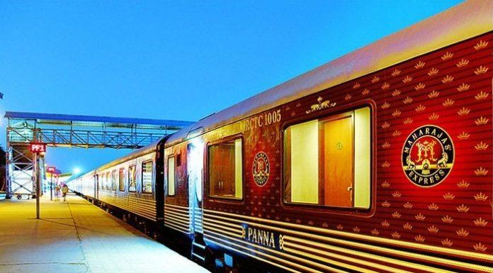 Najdrahší a najluxusnejší vlak Maharadža Express 24