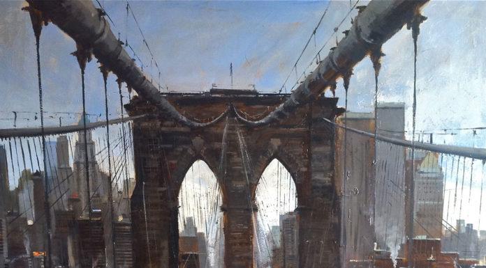 Cristóbal Pérez Garcia a jeho olejové maľby zachytávajúce ruch veľkomesta 1