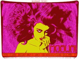 Chuck Sperry a jeho psychedelické plagáty rockových hviezd 1