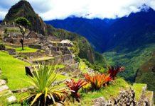 Magické mesto starých Inkov Machu Picchu 1