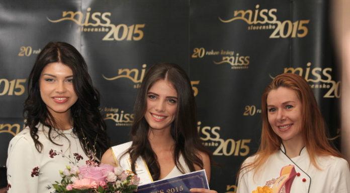 Špeciálna črievička pre novú Miss Press 2015 Adrianu Hodossyovú 1