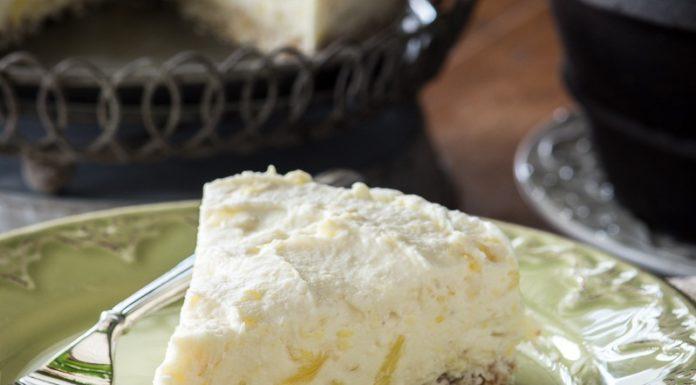 """Ananásovo-kokosový raw """"cheesecake"""" 2"""