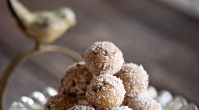 Citrónovo-levanduľové čajové raw cookies 3