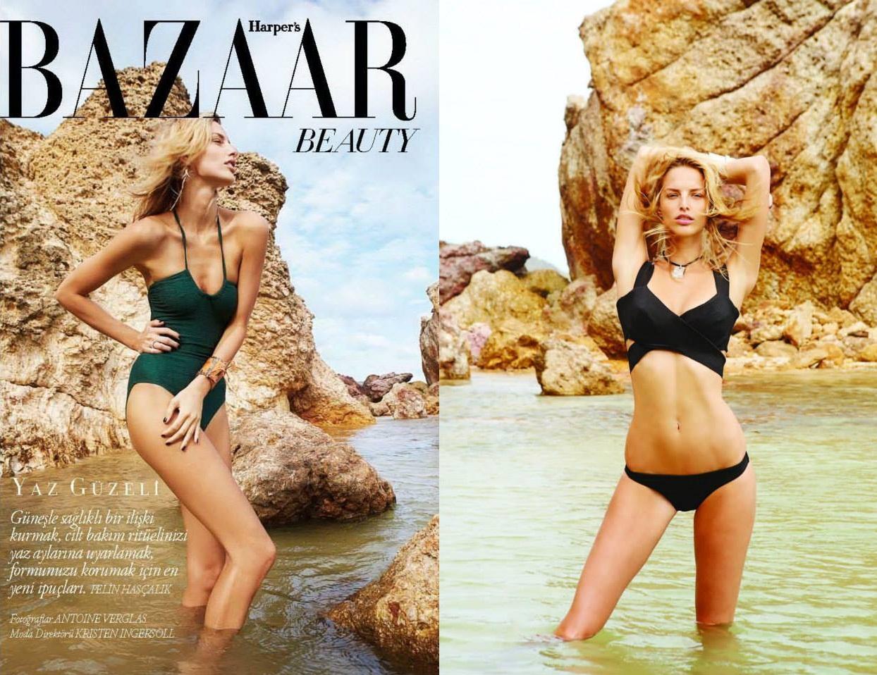 Slovenská topmodelka Michaela Kocianová v najnovšom vydaní Harper´s Bazaar 5