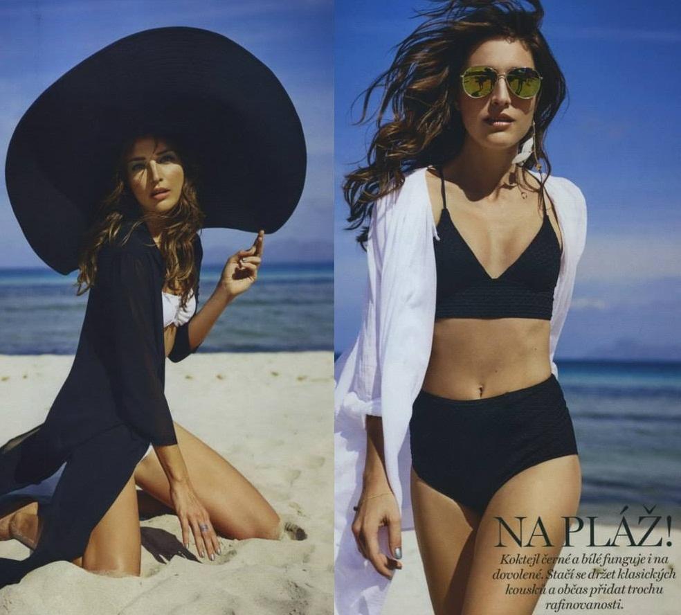 Slovenská ikona Linda Nývltová nafotila najnovší editoriál pre Marianne magazín 7