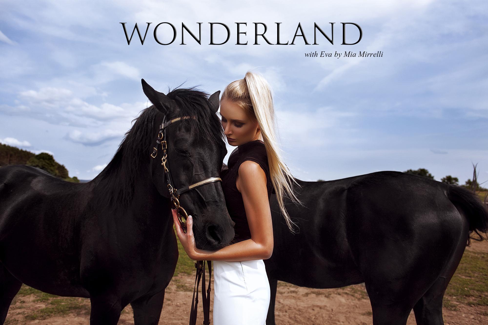 Mladá talentovaná česká fotografka Mia Mirrelli uvádza Wonderland + ROZHOVOR 1