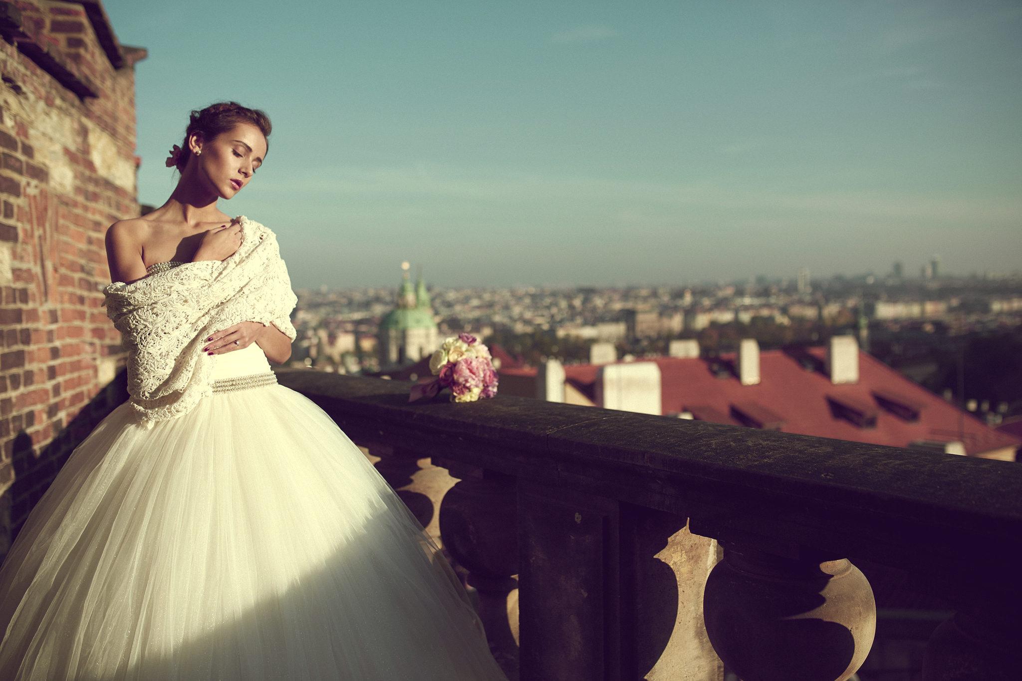 Česká módna návrhárka Anna Svobodová predstavila svoju autorskú kolekciu svadobných šiat 1
