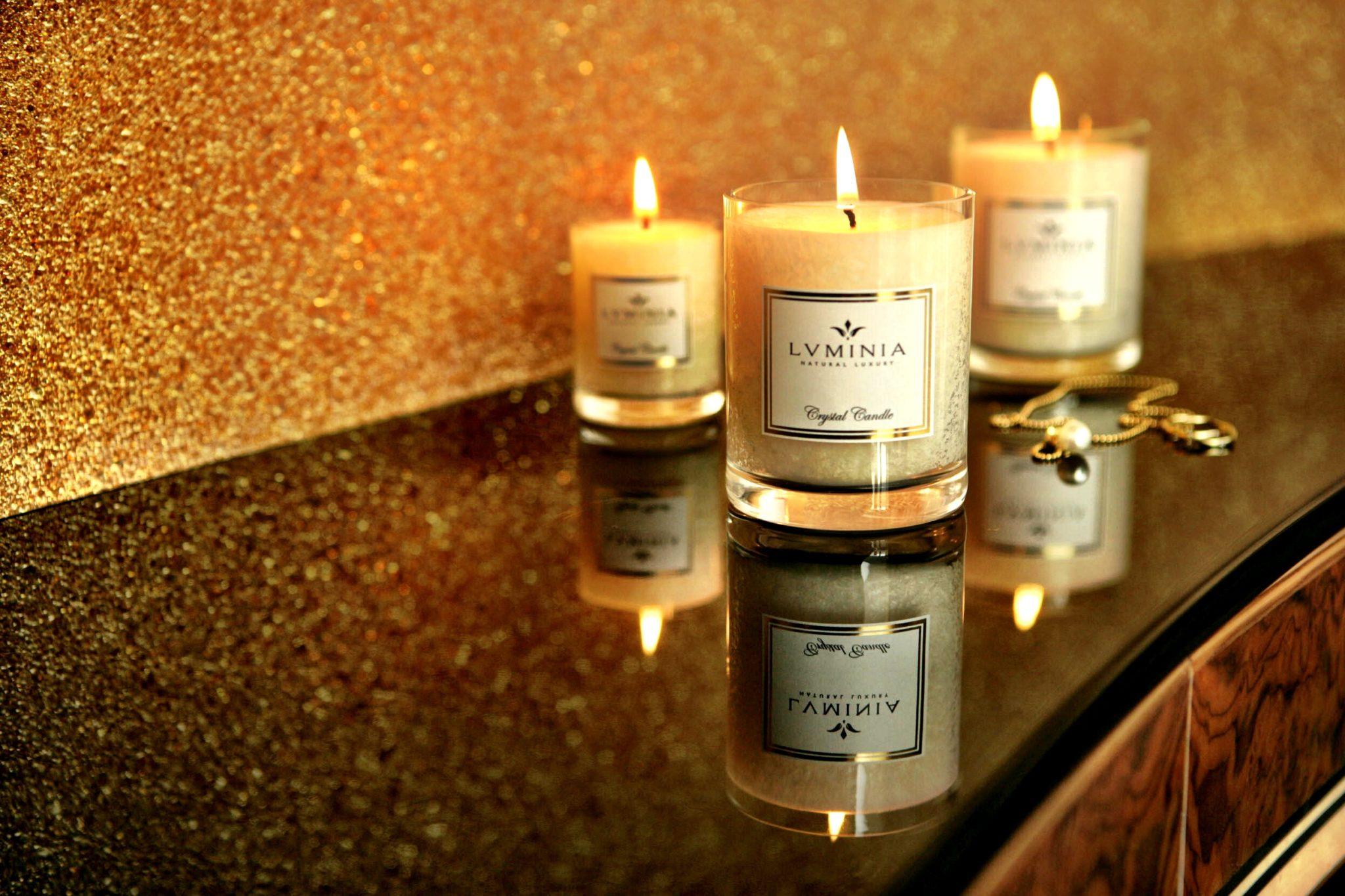 Prírodné sviečky LUMINIA - Nájdite si pod stromčekom luxusný darček! 4