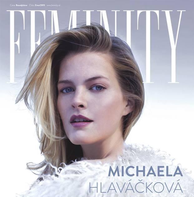 Slovenská topmodelka Michaela Hlaváčková nafotila titulnú stranu magazínu FEMINITY 2