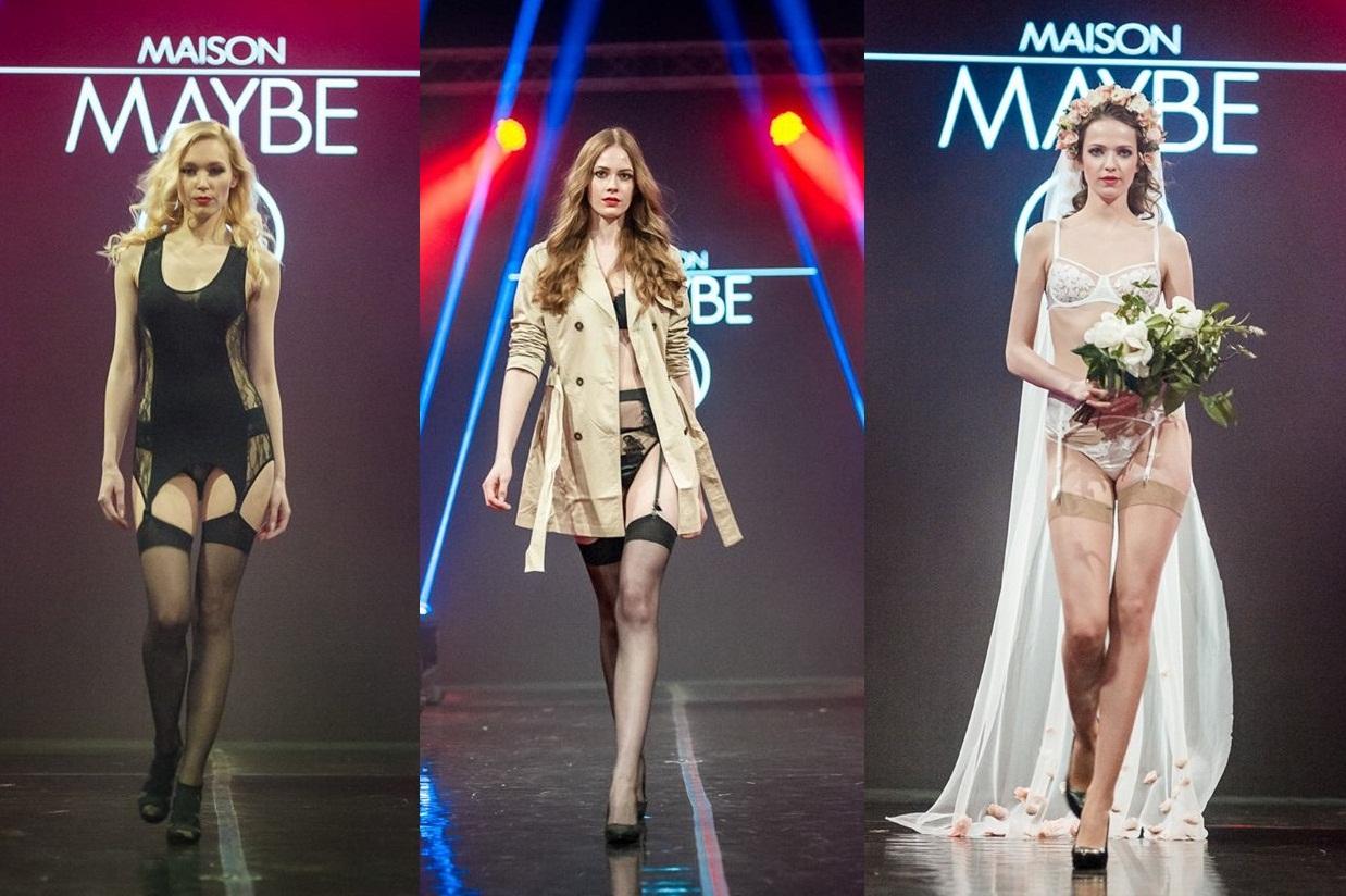 0bc29324a Luxusná sexi bielizeň Maison Maybe na telách krásnych modeliek na ...