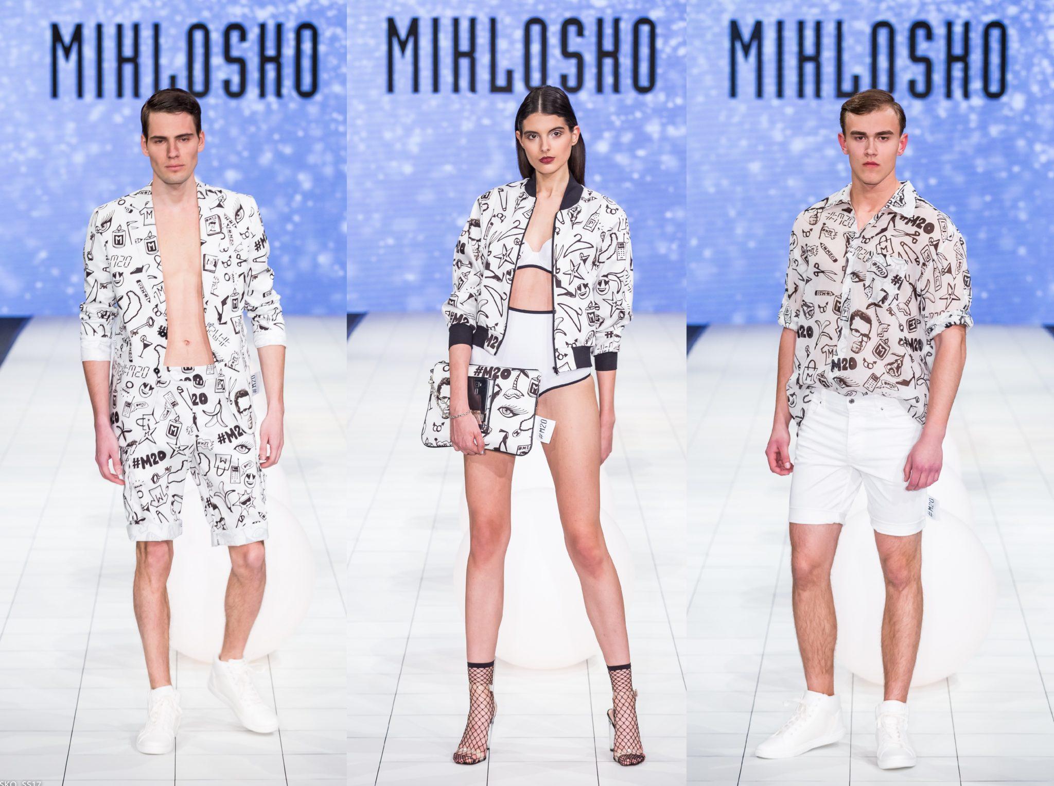 35a0000ea378 Pre jarné radovánky a letný oddych vytvoril Fero Mikloško autorskú – čierno  bielu sériu módnych kúskov