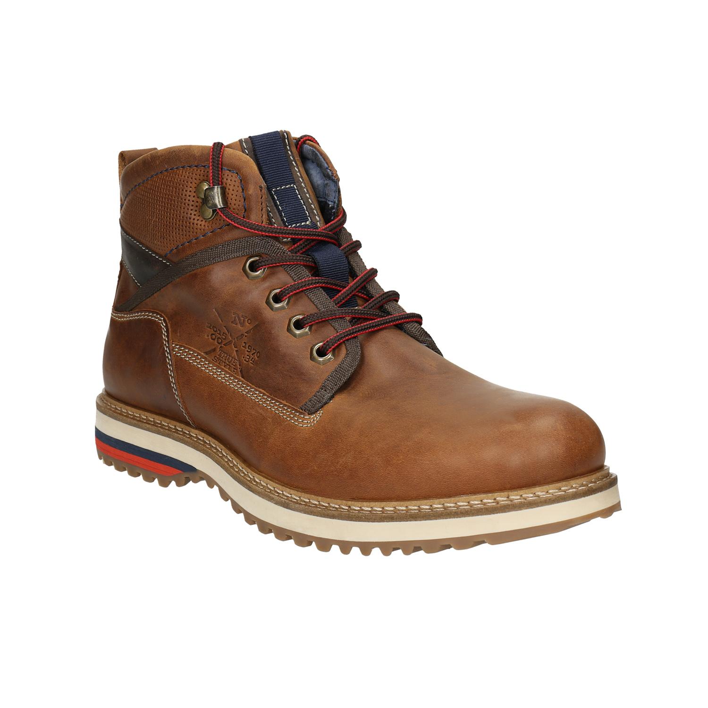 fb054a6ee2e9f Vysoká šnurovacia obuv, sčasti vyrábaná ručne, odolá vďaka masívnej  podrážke aj tomu najhoršiemu počasiu a je vhodná aj do terénu. Tieto topánky  si budú ...