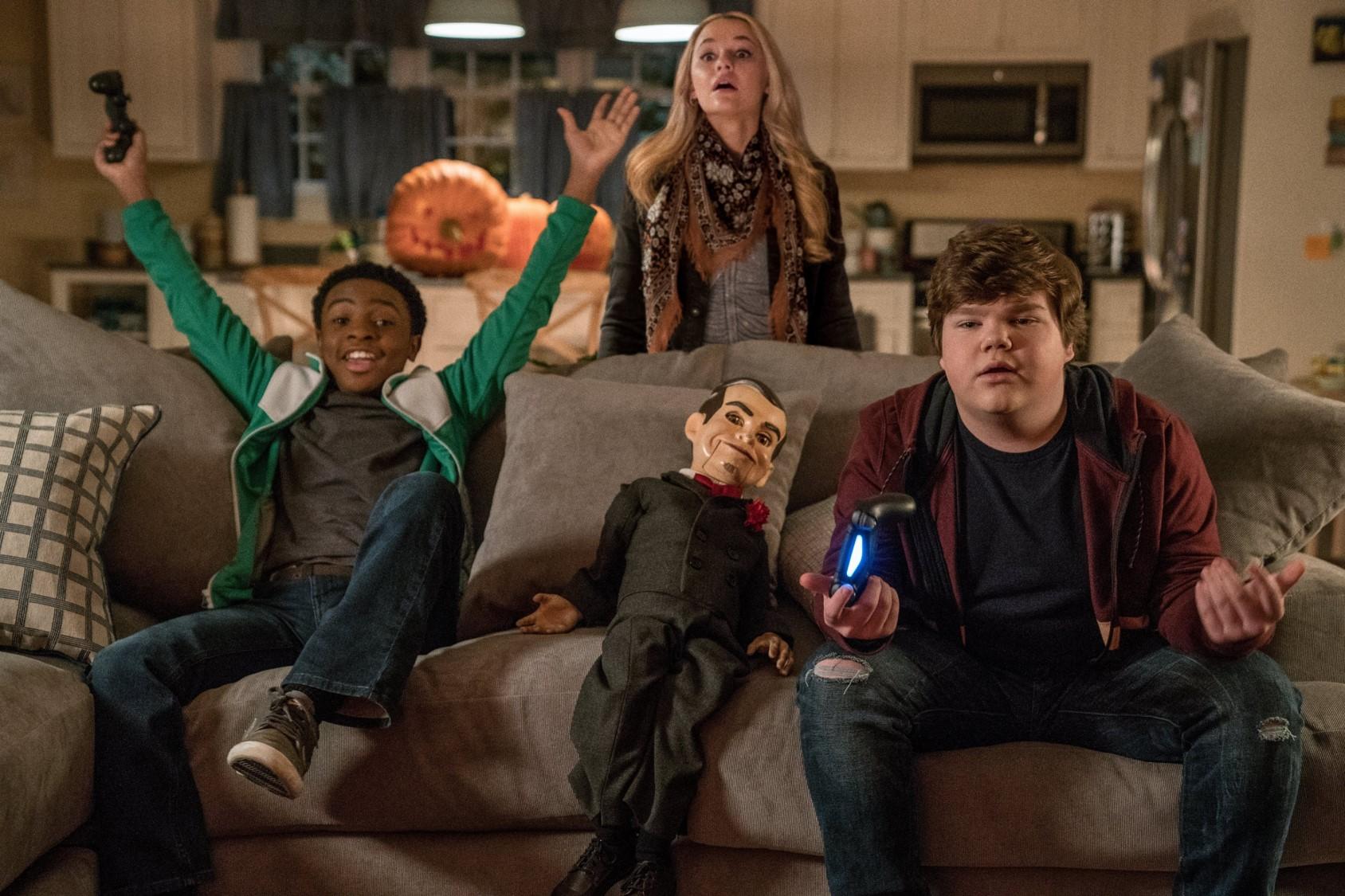 27d01d67d Ak ste si zamilovali film Jumanji: Vitajte v džungli a máte radi Halloween,  určite nevynechajte film Husia koža 2: Strašidelný Halloween, ktorý bude  mať ...