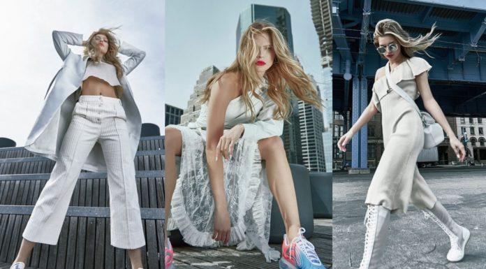 a50d2c05566b Uhladená móda je pre ňu ako stvorená! Americká modelka Josie Canseco  rozjasnila titulku srbského vydania magazínu ELLE
