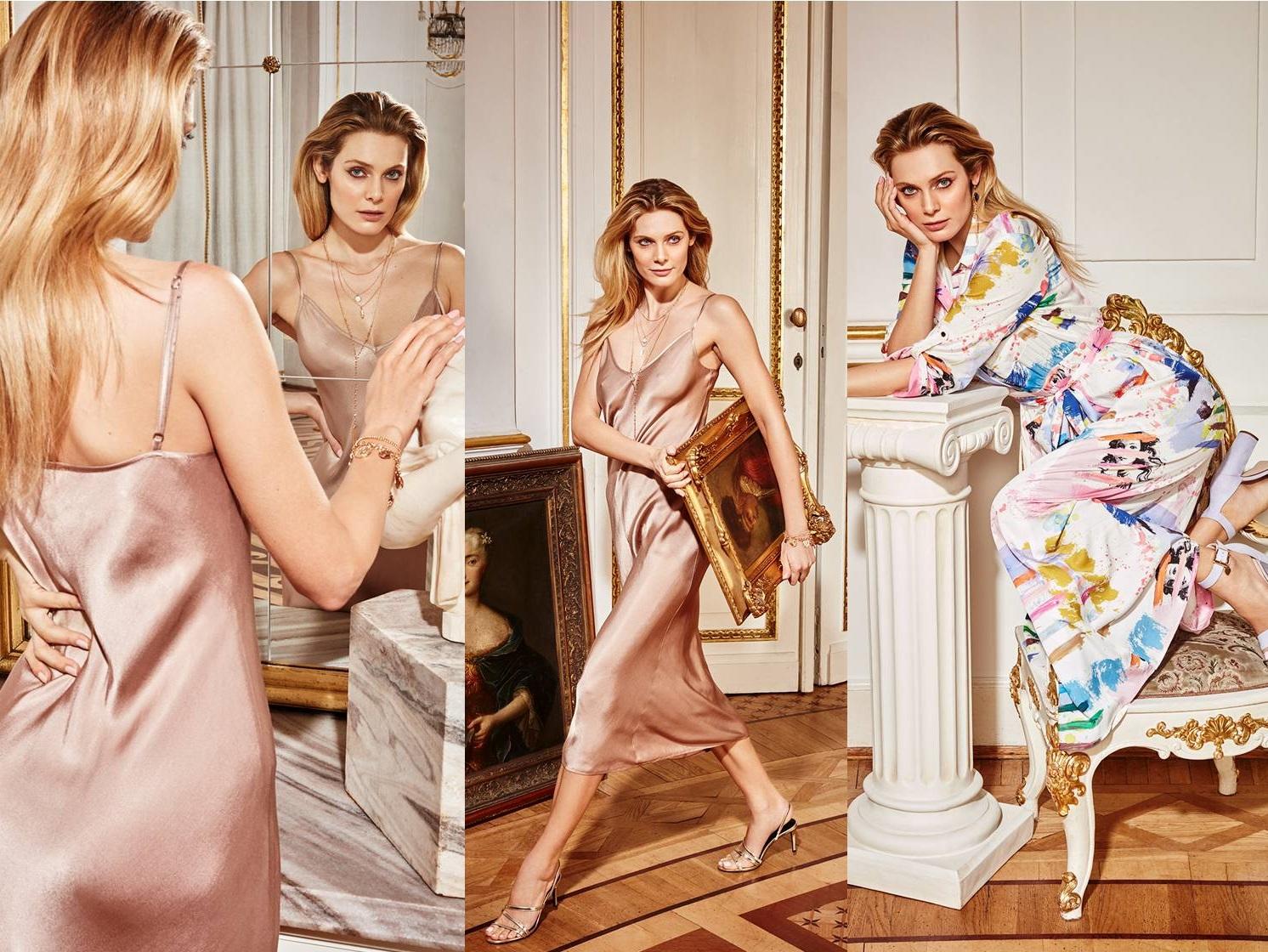 c3c72819fa94 Krásna Aldona Karczmarczyk tvárou najnovšej kampane módnej značky Mohito!  Objavte harmonickú kombináciu módy a historických interiérov už dnes!!!